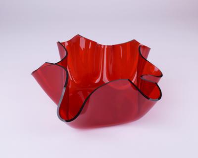 Schale, klein, rot