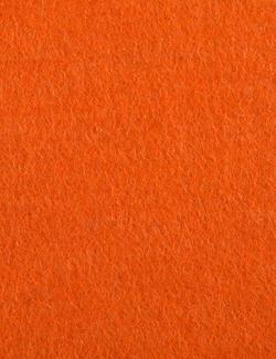 Designfilz 3 mm, orange 500 x 1000 mm